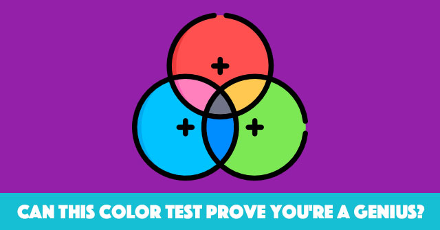 Can This Color Test Prove You're A Genius?