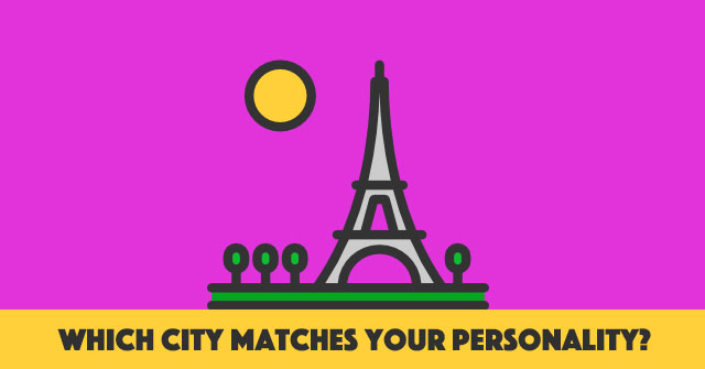 Which City Matches Your Personality?