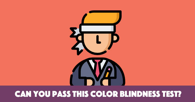 Can You Pass This Color Blindness Test?