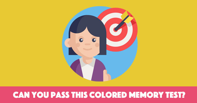 Can You Pass This Colored Memory Test?