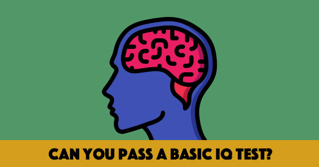 Can You Pass A Basic IQ Test?