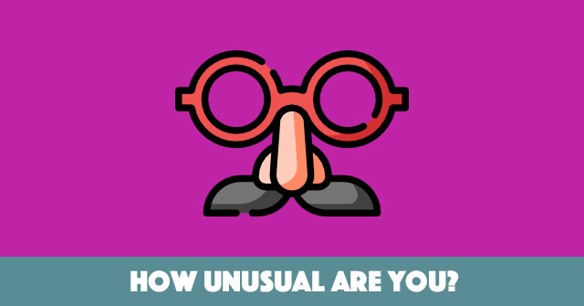 How Unusual Are You?