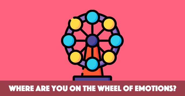 Where Are You On The Wheel Of Emotions?